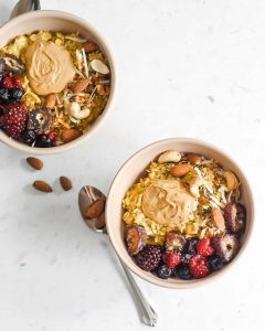 Golden Coconut Oatmeal