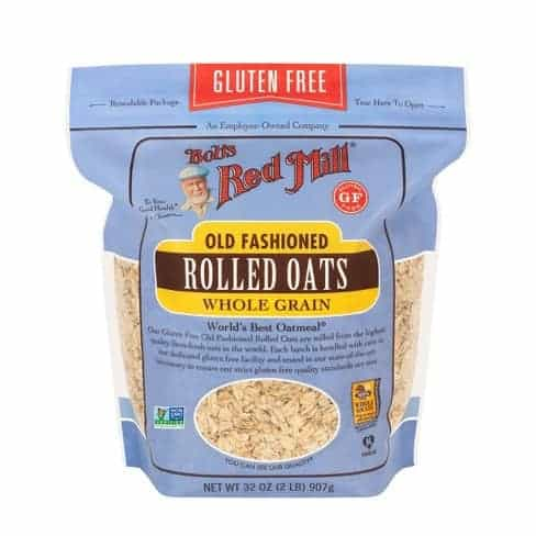 Bob's Red Mill, Old Fashioned Rolled Oats, Gluten Free, 52 oz